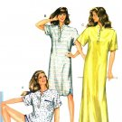 Burda 7000 Vintage 80s BEDSHIRTS & BOXERS Nightgowns Sewing Pattern