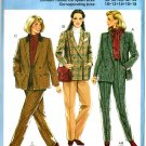 Burda 7738 Vintage 80s Classic BLAZER and PANTS Sewing Pattern