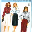 Burda 7740 Classic Straight SKIRT with Side or Front Slit Sewing Pattern
