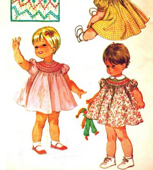 bishop smocked pink dress pattern - ShopWiki