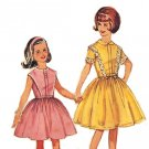 Simplicity 4874 Vintage 60s Special Occasion Dress with Sleeve Options Sewing Pattern