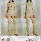 Vogue Paris Original 2348 Designer Claude Montana UNCUT Pantsuit or Jacket and Pants Sewing Pattern