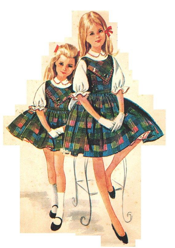 Mccall S 6458 Vintage 1960 S Helen Lee Jumper Dress