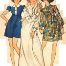 "Butterick 5718 Vintage 70s Designer Marcus Ors ""Young America Creates"" Dress Sewing Pattern"