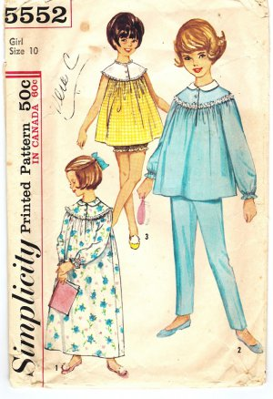 Amazon.com: Baby Nightgown Pattern Sewing