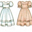 Simplicity 8180 Vintage UNCUT 90s Girls' Special Occasion Dress Sewing Pattern