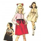 McCall's 8052 Vintage 60s Empire Dress, Sleeveless - Long Sleeves, Ribbon & Lace Trim Sewing Pattern