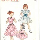 Butterick 7265 Vintage 50s Rockin' Girl's Dress Sewing Pattern