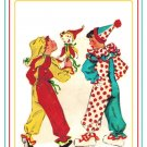 McCall's 1507 Vintage 40s Toddler Child's Jester and Clown Costume & Toy Sewing Pattern Size 2 - 4