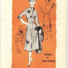 Prominent Designer A504 by Helen Charelle Vintage 50s Misses Half Size Dress Sewing Pattern