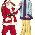 McCall's 1890 1950s SANTA CLAUS SUIT & ASIAN MAN Costumes Vintage Sewing Pattern