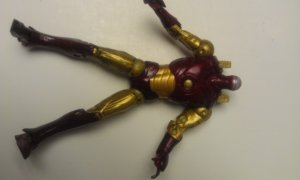 "Customizer's Corner Marvel Legends Armored Body (Iron Man 6"" Movie Series)"