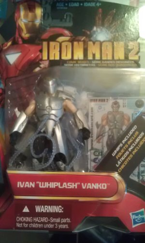 "Iron Man 2: Ivan ""Whiplash"" Vanko"