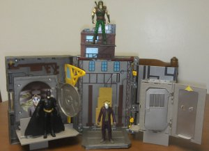 The Dark Knight X-Pandables The Joker's Lair Playset