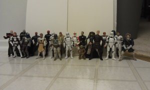 Star Wars Assorted 21 Figure Lot