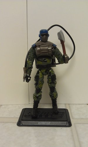 G.I. Joe BBTS Exclusive Slaughter's Marauders Barbecue