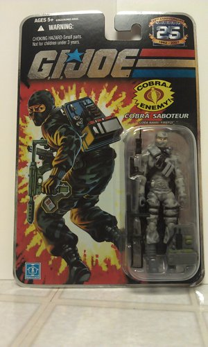 G.I. Joe 25th Anniversary Firefly (v14 , foil card)