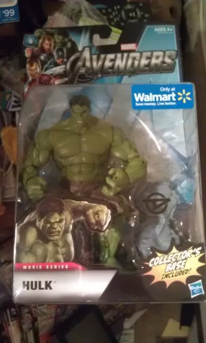 "Walmart Exclusive 6"" Avengers Studio Series The Hulk"