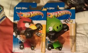 Hot Wheels Angry Birds Set