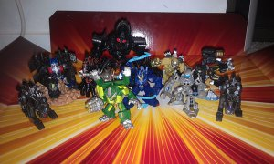 Transformers Movie Robot Heroes Lot
