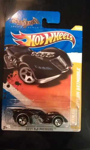 Hot Wheels Arkham Asylum Batmobile