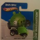 Hot Wheels Angry Birds Minion Pig (short card)