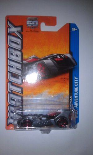 Matchbox MBX Adventure City Batmobile (Gray Variant)
