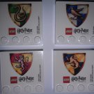 LEGO Harry Potter House Crest Magnet Set