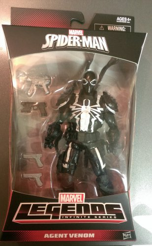 Spider-Man Marvel Legends Infinite Series Agent Venom (Walgreens Exclusive)