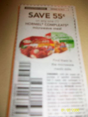 10 - .55/1 Hormel Compleats Microwave Meal