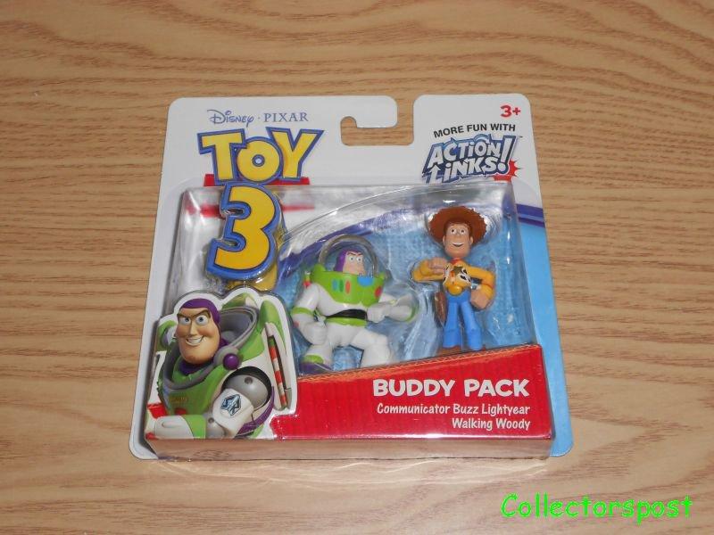 Toy Story 3 Buddy Pack Buzz Lightyear   Woody a5047214672