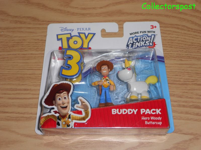 Toy Story 3 Buddy Pack Woody & Buttercup