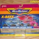 Micro Machines X-RAYS Collection #1 with bonus car