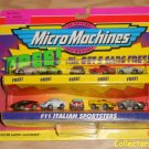 Micro Machines Vehicle Collection #11 Italian Sportsters