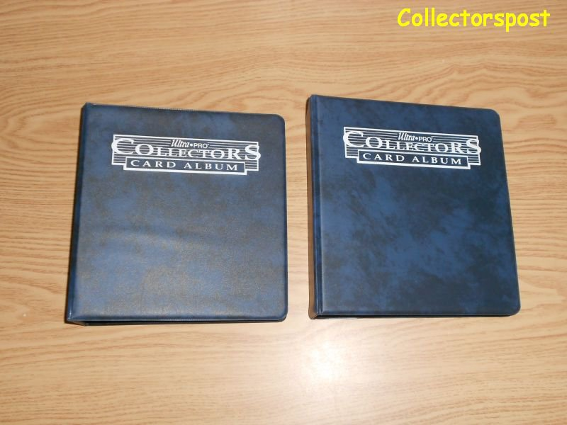 Ultra Pro Mini 2-Ring Album lot of 2 with 40 4-pocket pages each