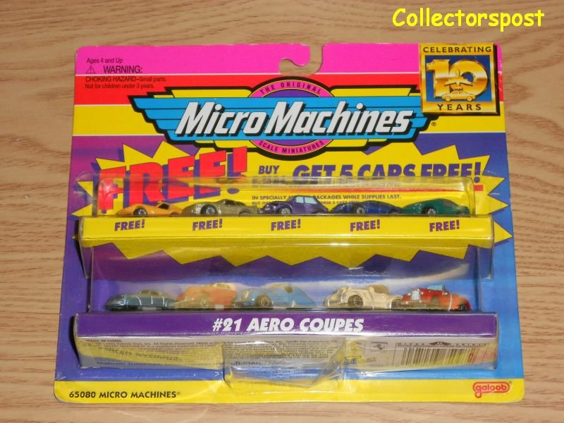 Micro Machines Celebrating 10 Years #21 Aero Coupes