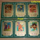 Dragon Ball Z Gold cards 3 pack