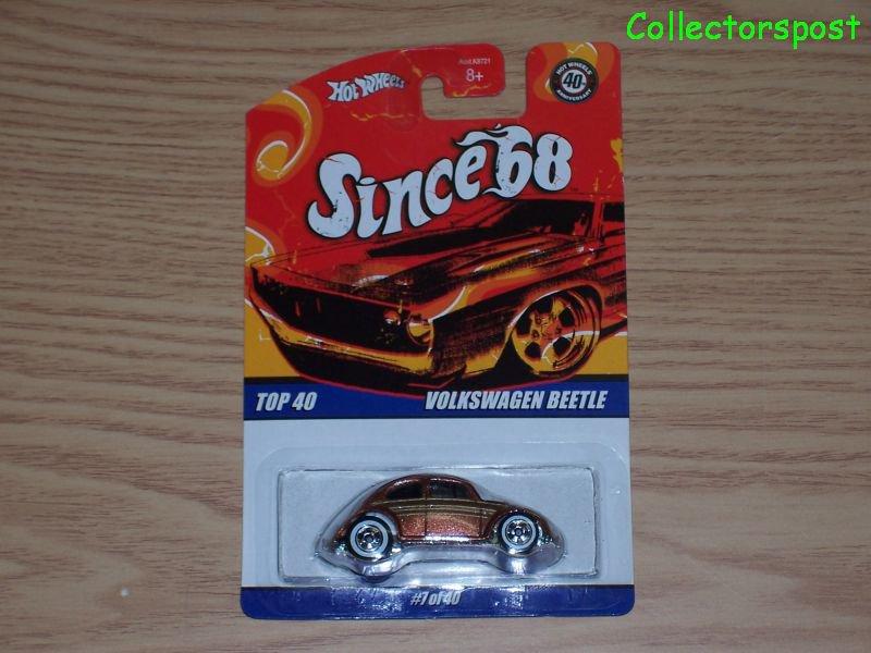 Hot Wheels Since '68 Top 40 Volkswagen Beetle #7 of 40