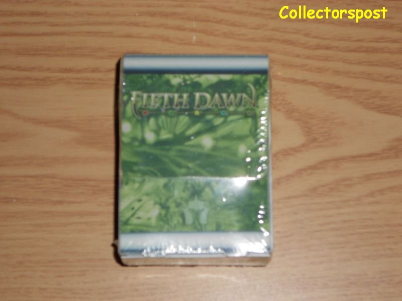 Magic the Gathering Fifth Dawn Deck box with sleeves
