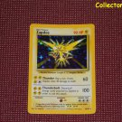 Pokemon Base Set Unlimited Zapdos Holo