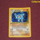 Pokemon Base Set 1st Edition Machamp Holo