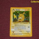 Pokemon Fossil Set Unlimited Raichu Holo