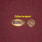 NFL Minnesota Vikings name pin