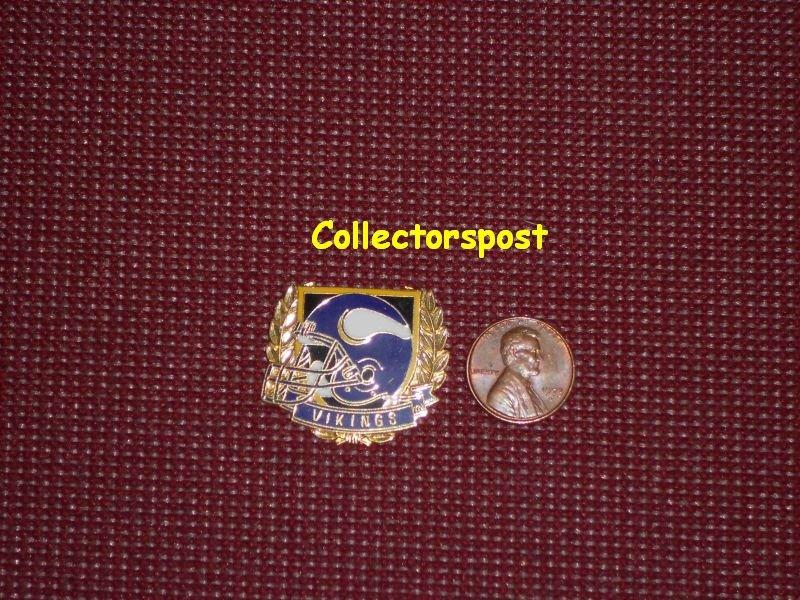 NFL Minnesota Vikings helmet pin