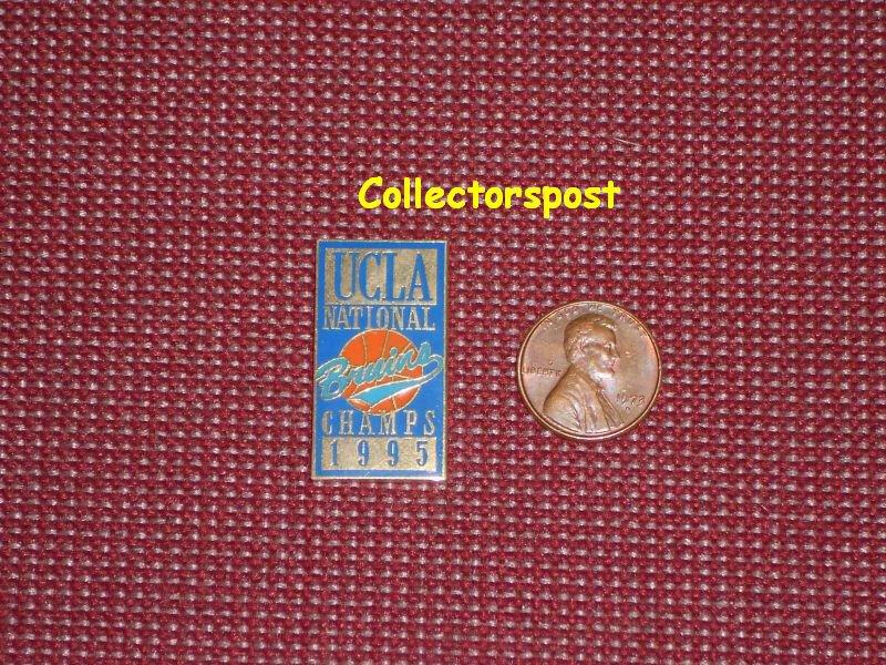 UCLA Bruins basketball National Champions pin