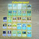 Pokemon base Set Unlimited Shadowless common & uncommon