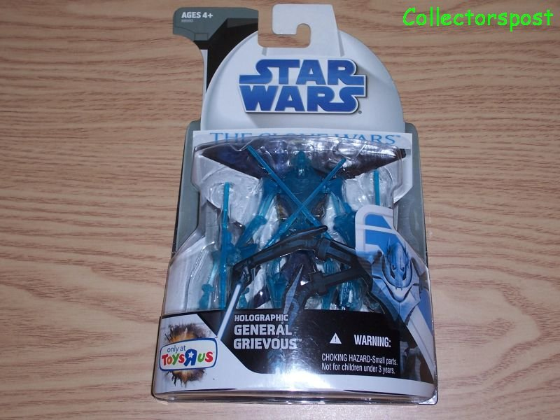 Star Wars Clone Wars Holographic General Grievous