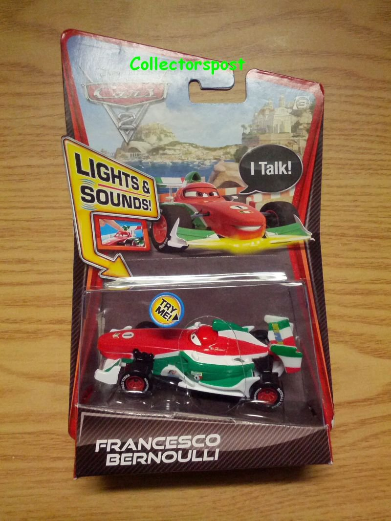Cars 2 Lights & Sounds Francesco Bernoulli