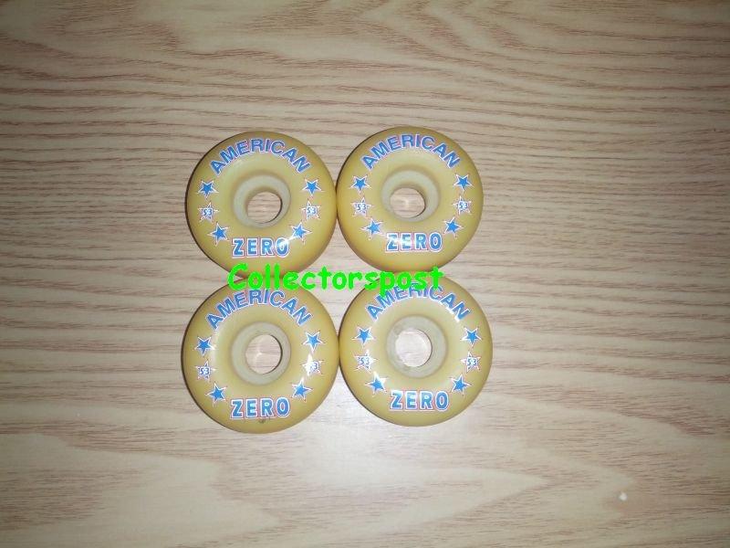 Zero skateboard wheels 53mm