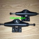 Silver S-class black skateboard trucks Low
